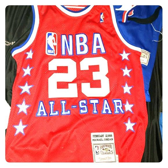 official photos 3a64a 85dd3 1989 Jordan All Star Jersey